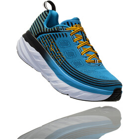 Hoka One One Bondi 6 Running Shoes Herre dresden blue/black